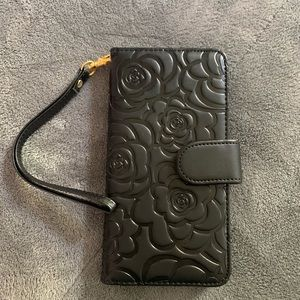iPhone 6 plus wallet black